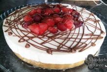 Cheesecake ai frutti rossi e nutella