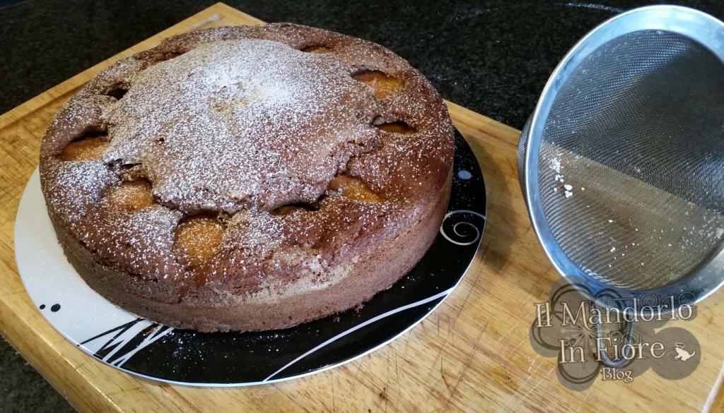torta al cioccolato e albicocca