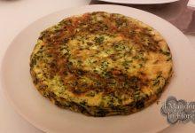 Frittata con gli spinaci al microonde