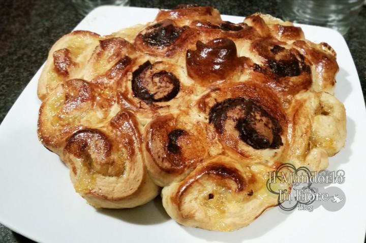 Torta di rose marmellata e nutella