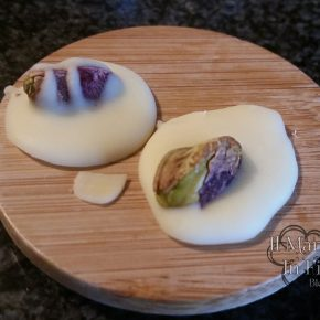 Medaglioni al pistacchio