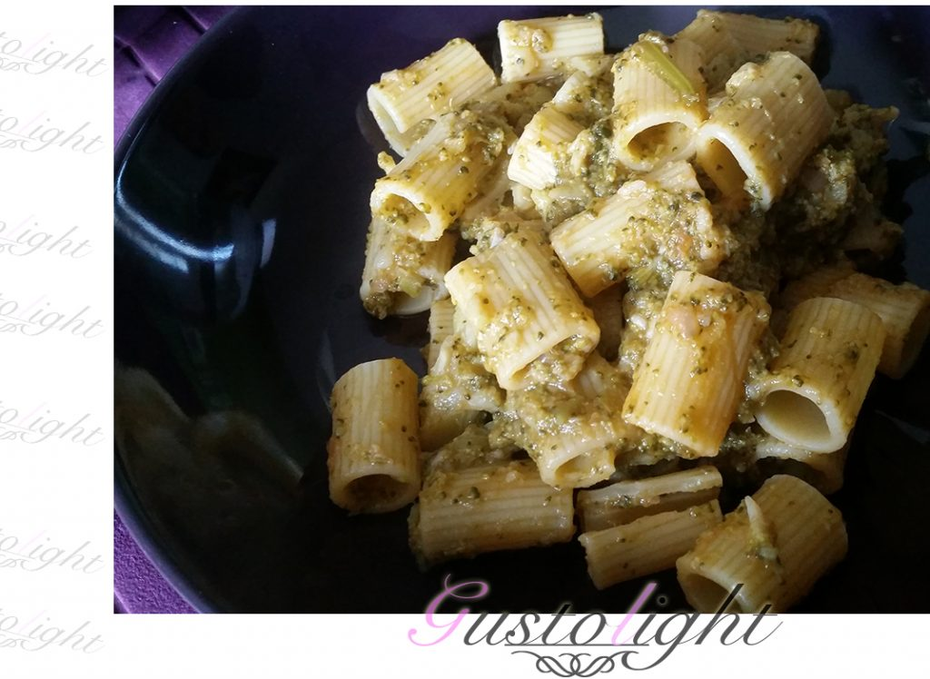 Rigatoni ai broccoletti in tegame