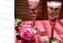 Coppe di mousse light lla fragola
