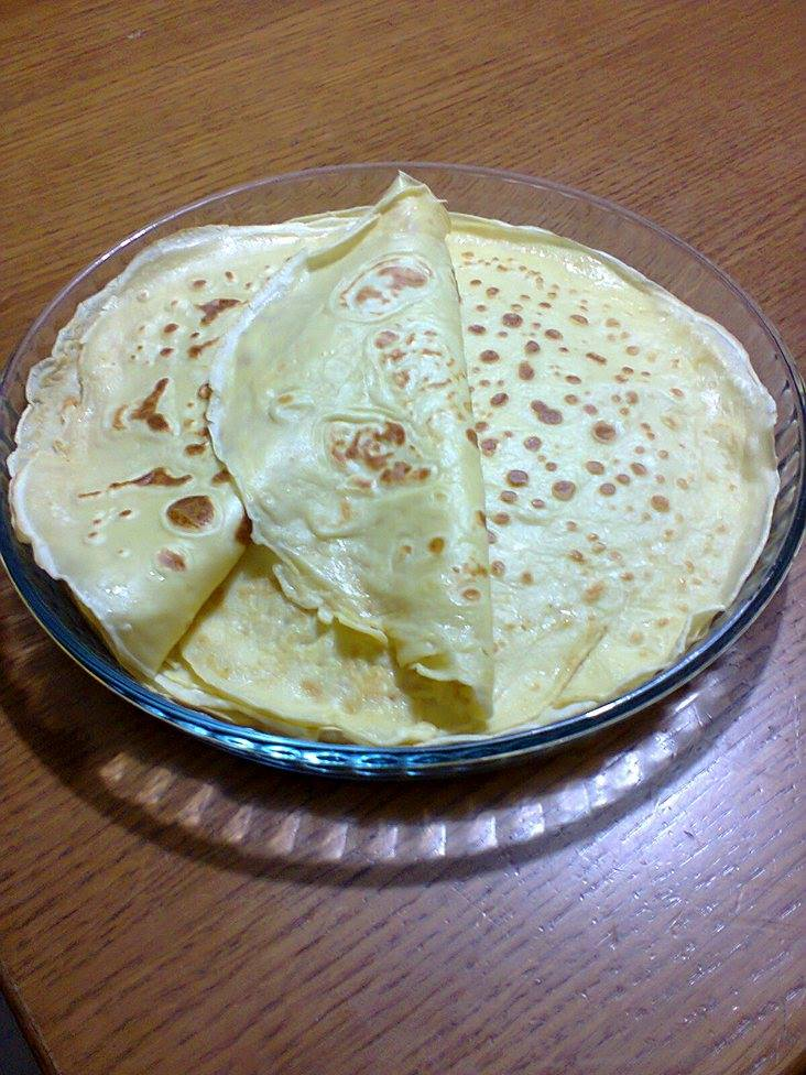 Crepes ( ricetta base)