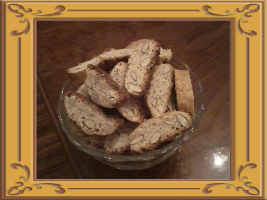 Cantucci (biscotti alle mandorle)