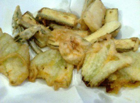 Frittura vegetariana mista