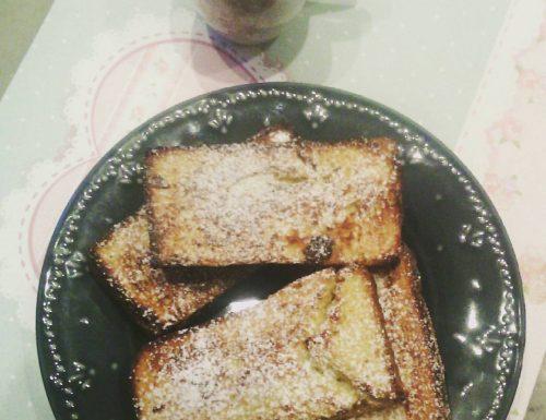 French toast farciti al forno