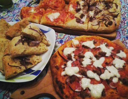 Pizza in teglia perfetta