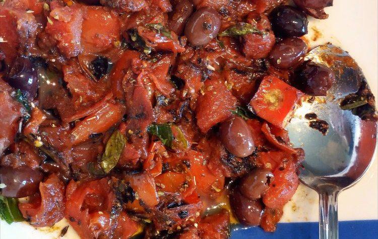 Salsa mediterranea di pomodori arrostiti