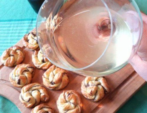 Rose di sfoglia alle olive taggiasche