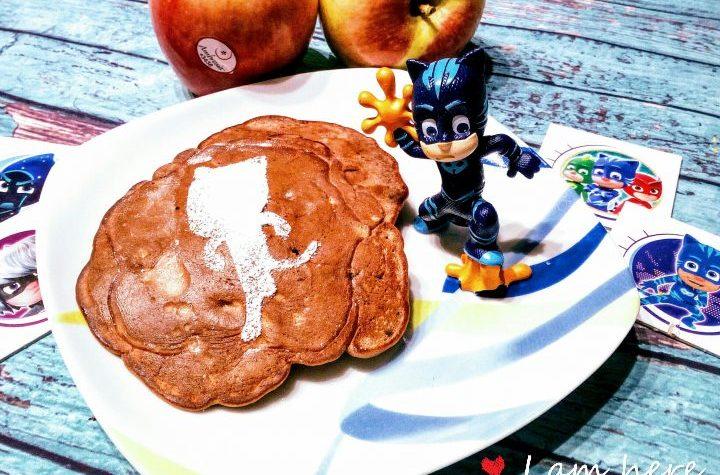 I pancake di GattoBoy con castagne e mele