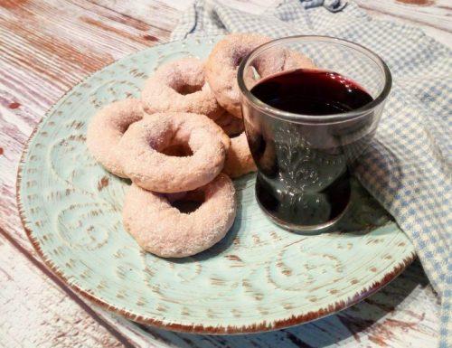 Ciambelline al vino o mbriachelle