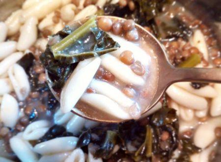 Cavatelli in brodo con lenticchie