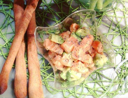 Tartare di salmone all'avocado