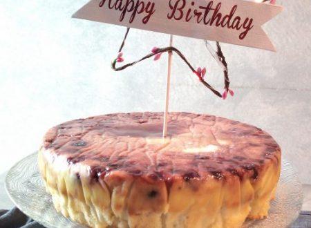 Torta magica alla vaniglia e amarene sciroppate