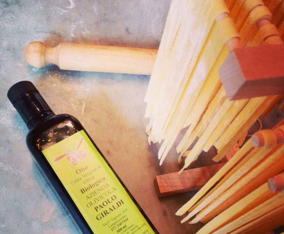 Tagliatelle fresche all'olio extravergine