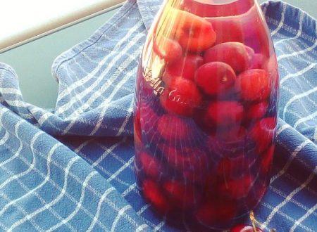 Liquore alle ciliegie pugliese