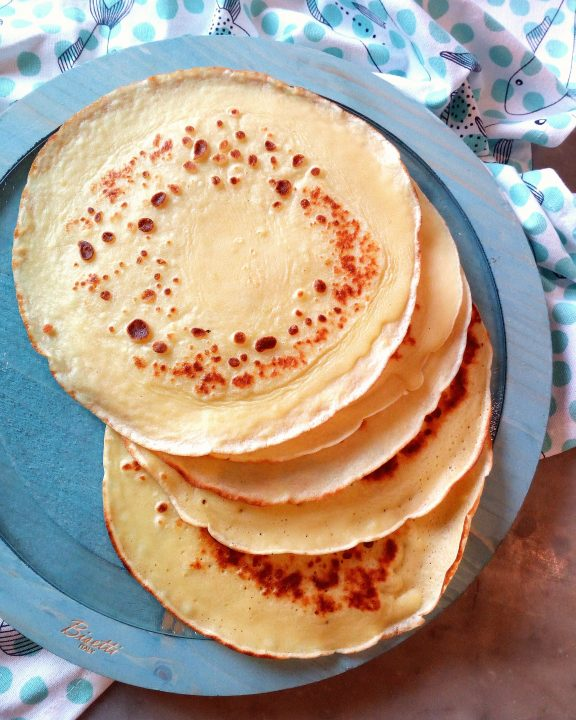 Crepes ricetta base