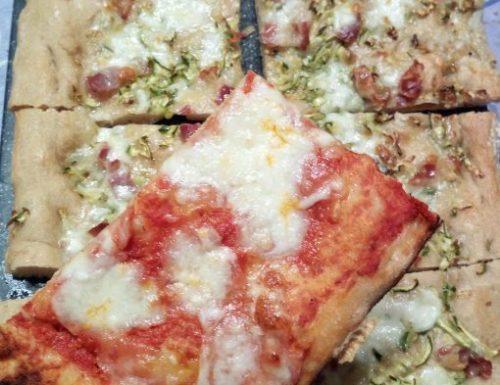 Pizza in teglia alla romana ricetta di Bonci