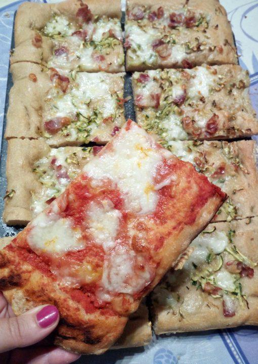 Pizza in teglia romana ricetta di Bonci