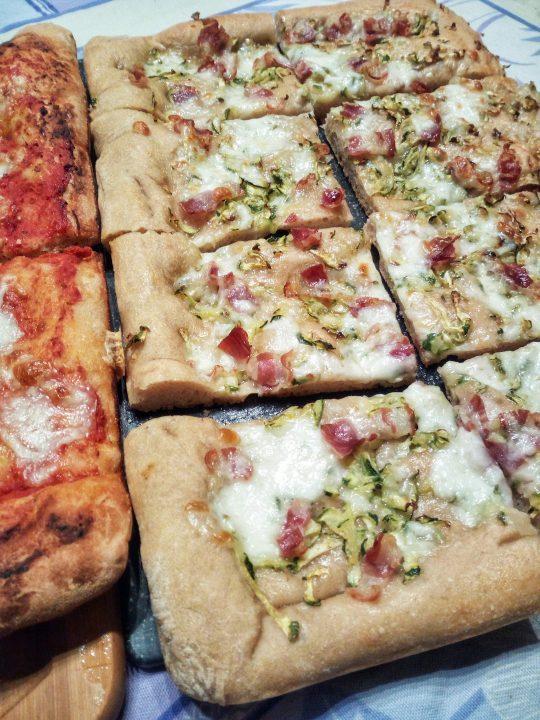 pizza alla teglia