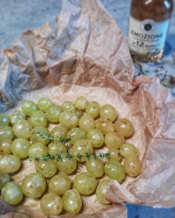 Camembert all'uva caramellata