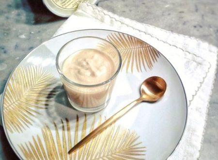 Crema di ricotta profumata al caffè e mistra`