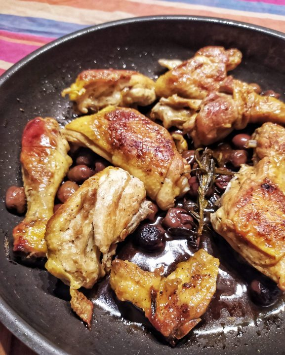 Pollo alla'ncip-'nciap