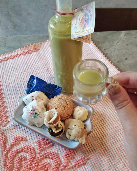 Il mio menù aperitivo dalla Sardegna per L'artigianato è in tavola