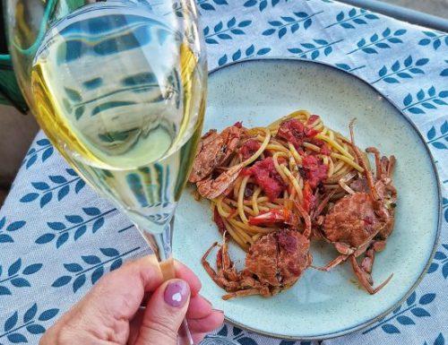 Spaghetti ai granchi cubani