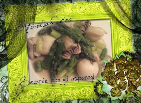 Seppie agli asparagi…