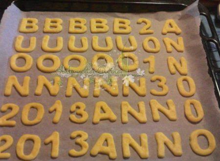 Biscotti con farina di mais…