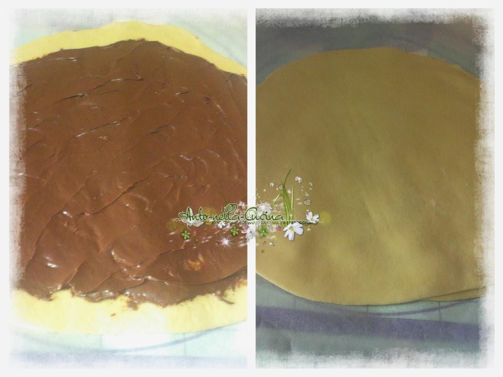 Fiore di pan brioche il mondo di anto nella cucina - Bagno nella nutella ...