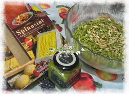 Spinosini con Pesto alla brontese…