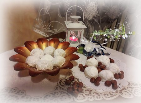 "Russian tea cakes… ""Dolci da the russi alla nocciola"""