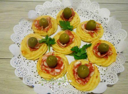Zeppole di patate al forno…