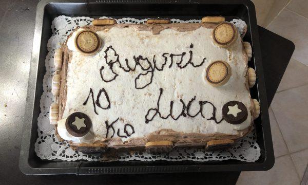Torta di compleanno mascarpone e nutella