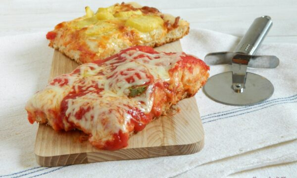 Impasto per pizza alta
