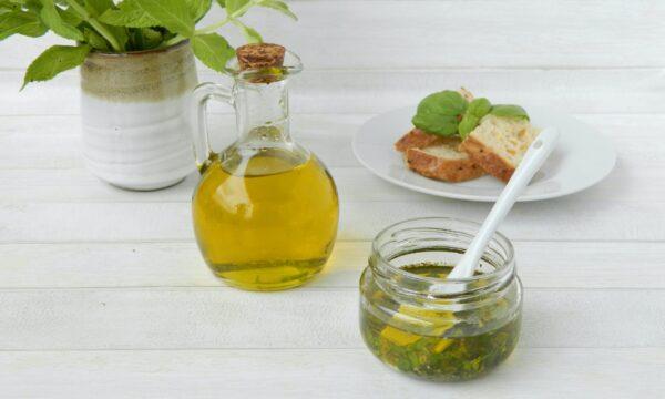 Olio basilico e menta