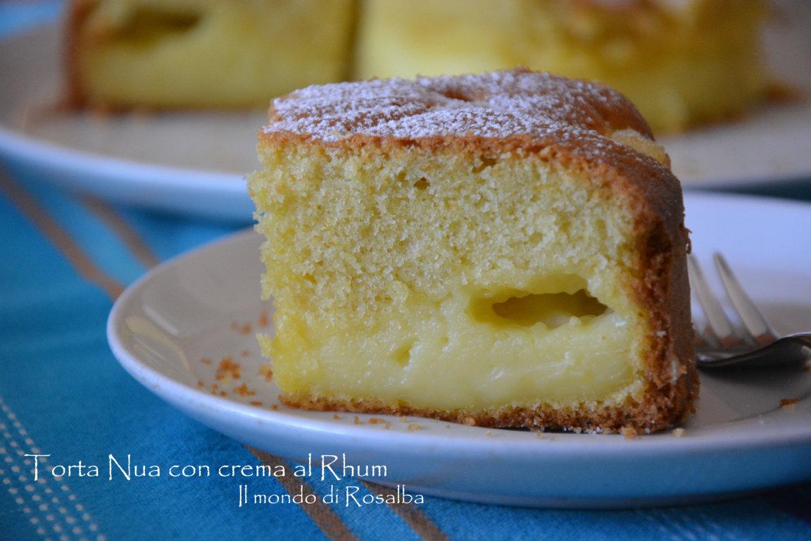 Torta Nua con crema al Rhum