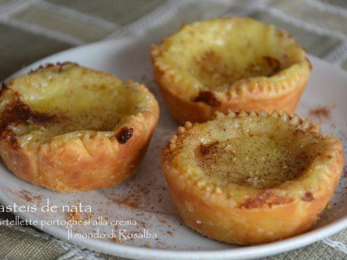 Pasteis de nata – Tartellette portoghesi alla crema