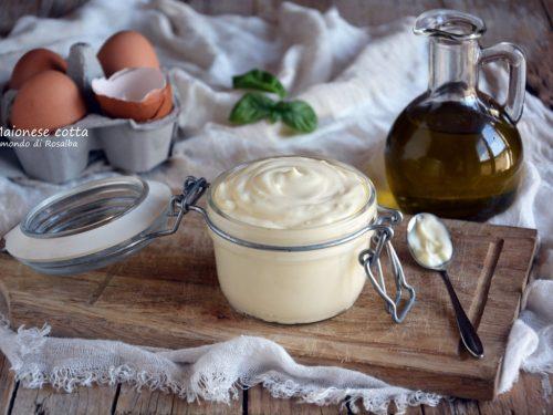 Maionese cotta (Ricetta tradizionale e Bimby)