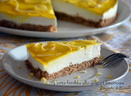 Torta fredda allo yogurt limonosa