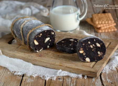 Salame al Cioccolato (Ricetta tradizionale e Bimby)