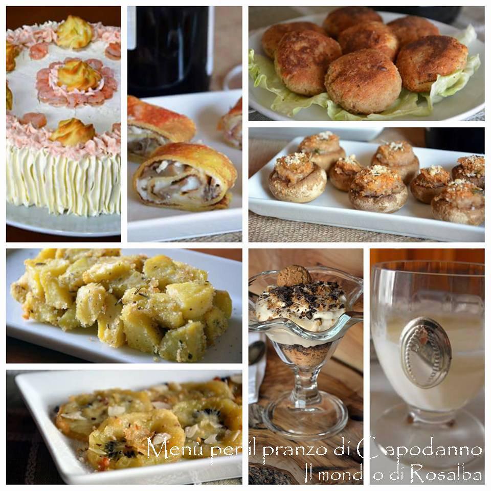 Men per il pranzo di capodanno il mondo di rosalba - Menu per ospiti a pranzo ...