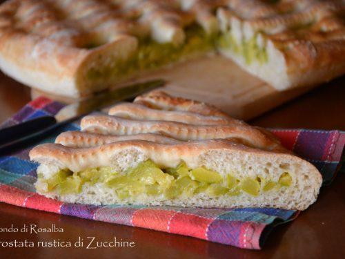 Crostata rustica di Zucchine