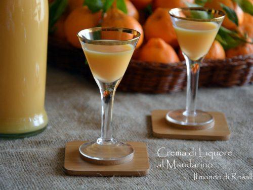 Crema di Liquore al Mandarino