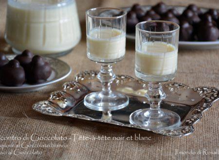 Incontro di Cioccolato - Tête-à-tête noir et blanc