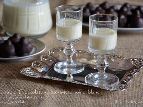 Incontro di Cioccolato – Tête-à-tête noir et blanc