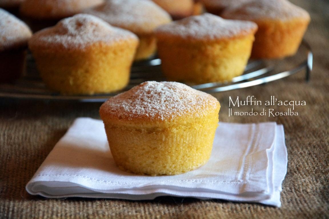 Muffin all'acqua